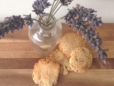 lavender and cookies