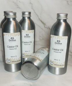 castor oil bottles