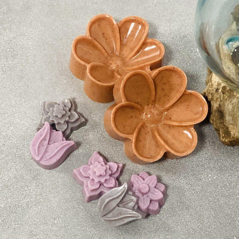 paprika soap flowers